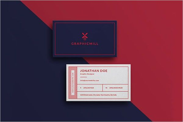 Charity Business Card Graphic Design
