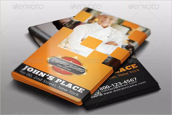 Chef Catering Services Business Card