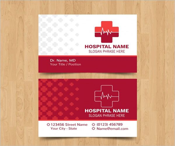Colorful Clinic Business Card Template