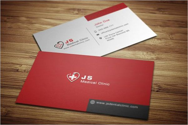 Comfort Clinic Business Card Design
