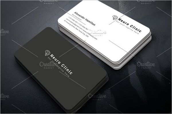 Commercial Clinic Business Card Design