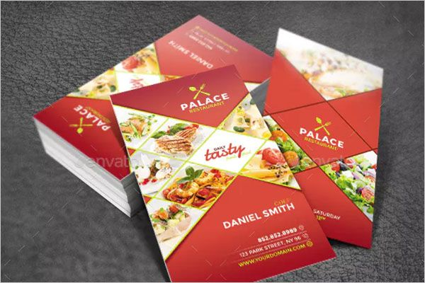 Corporate Catering Services Business Card