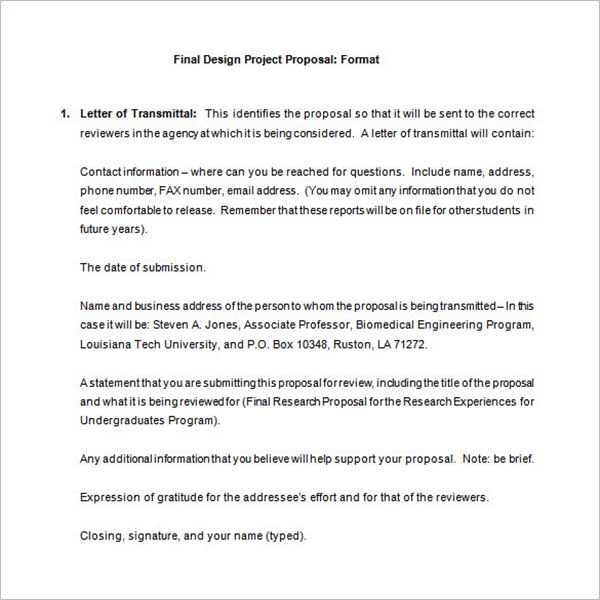 Corporate Project Proposal Template