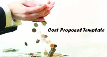 Cost Proposal Template Design