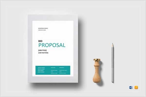 Cost Proposal Template Document