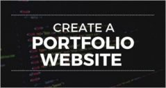 How to Create a Portfolio Website with HTML?