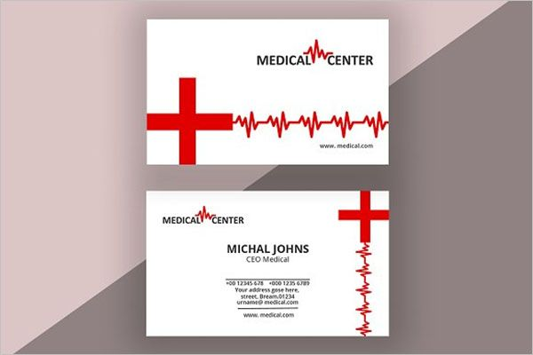 Creative Clinic Business Card Template