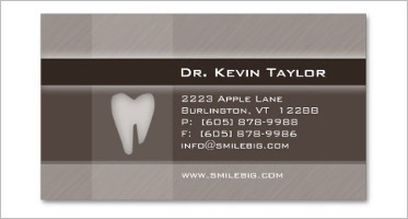 Creative Dental Care Business Card Templates