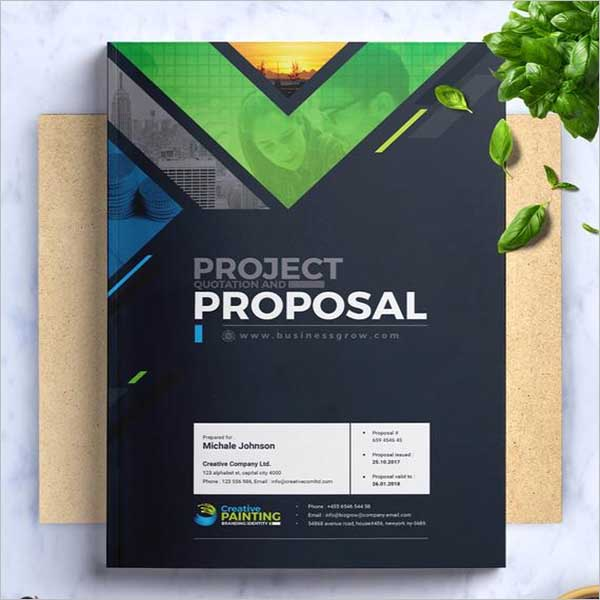 Creative Design Proposal Template