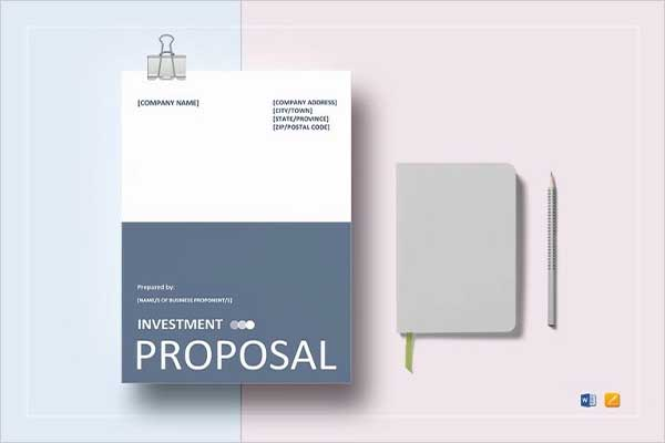 Custom Cost Proposal Template