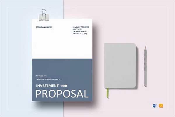 Custom Cost Proposal Template
