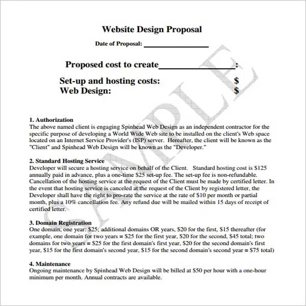 Design Proposal Template Document