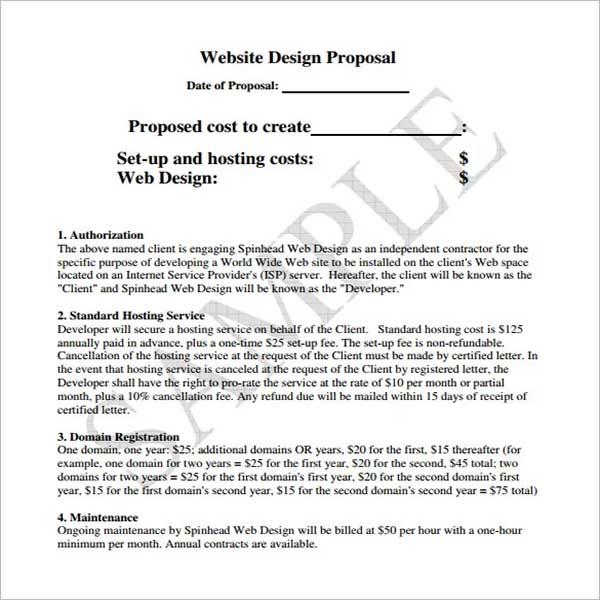 Design Proposal Template Document