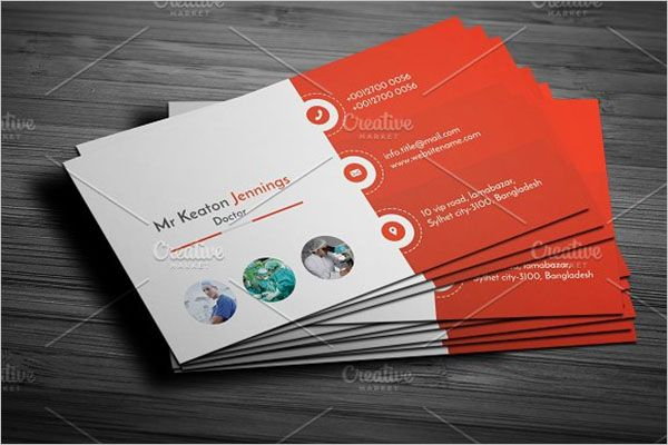 Doctor Clinic Business Card Template