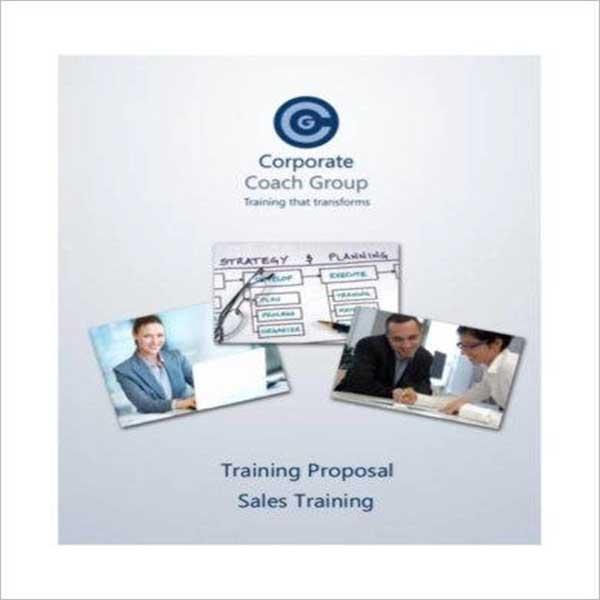 Editable Training Proposal Template
