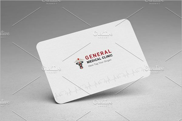 Elegant Clinic Business Card Design