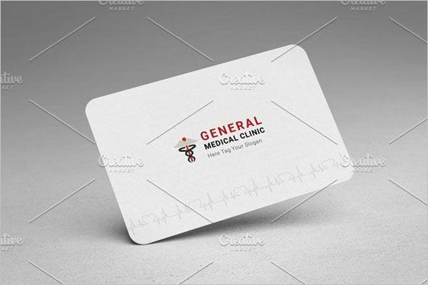 Elegant Clinic Business Card Design