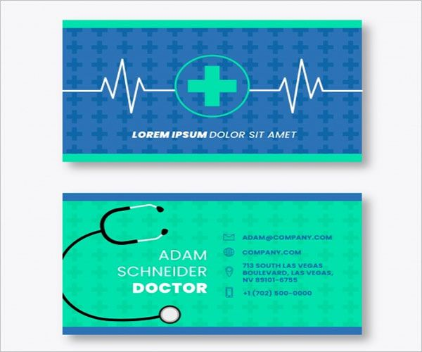 Extraordinary Clinic Business Card Design