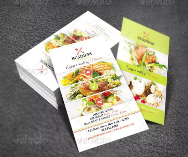 Family Catering Services Business Card