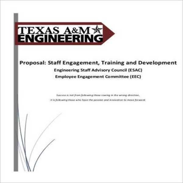 Free Training Proposal Template