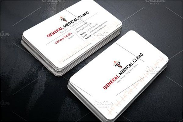 General Clinic Business Card Design