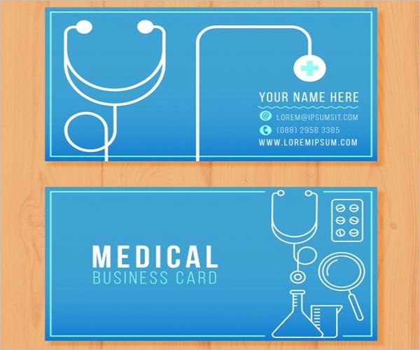 Hospital Clinic Business Card Design
