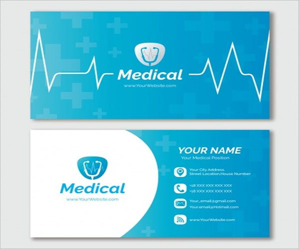 Latest Clinic Business Card Design