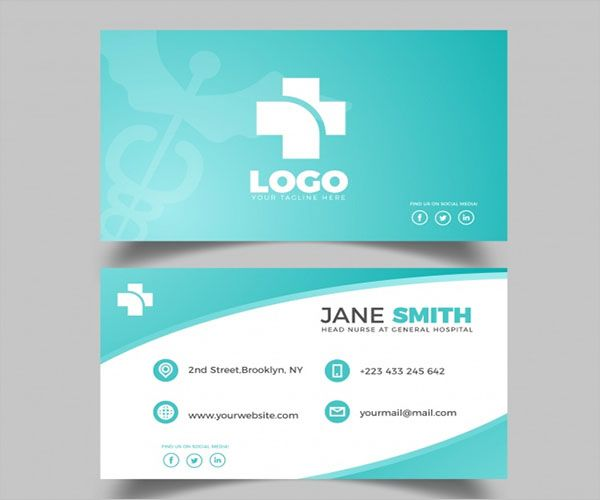 Medical Clinic Business Card Design