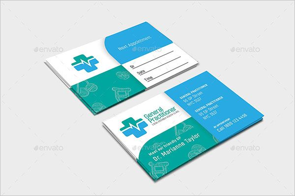 Modern Charity Business Card Design