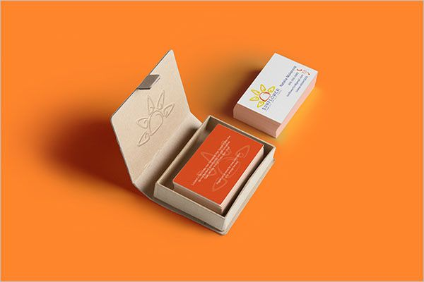Modern Day Care Business Card Template