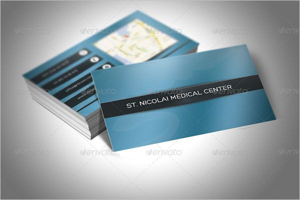 People Clinic Business Card Design