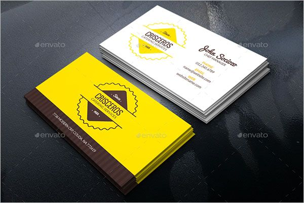 Perfect Catering Services Business Card