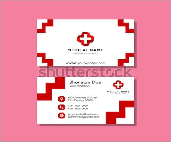 Personalized Charity Business Card Design