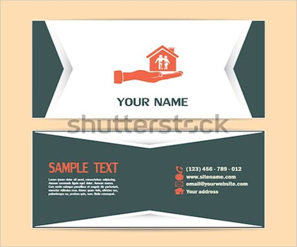 Personalized Daycare Business Card Design