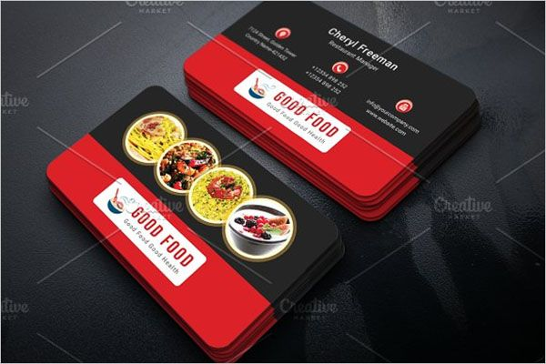 Popular Catering Services Business Card