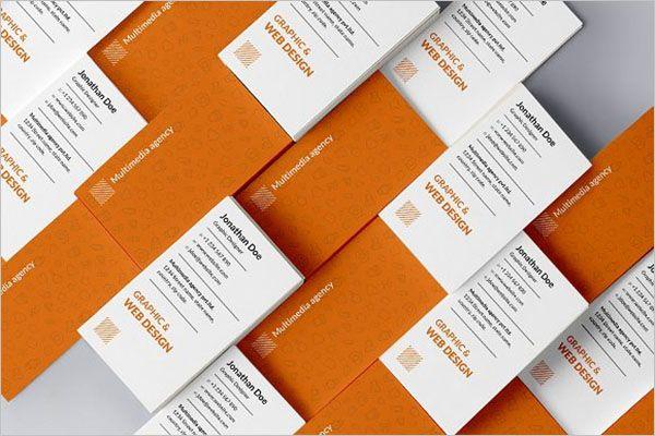 Premium Charity Business Card Design