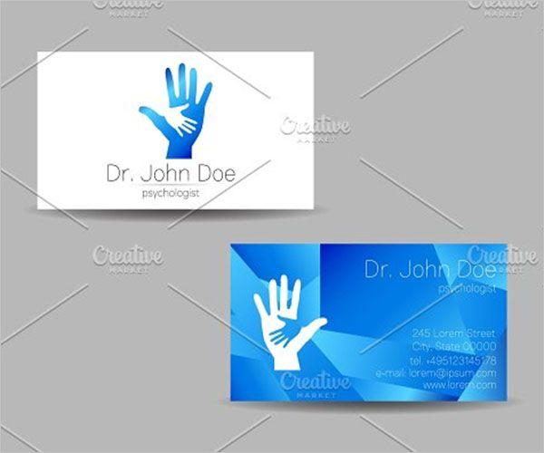 Premium Clinic Business Card Design