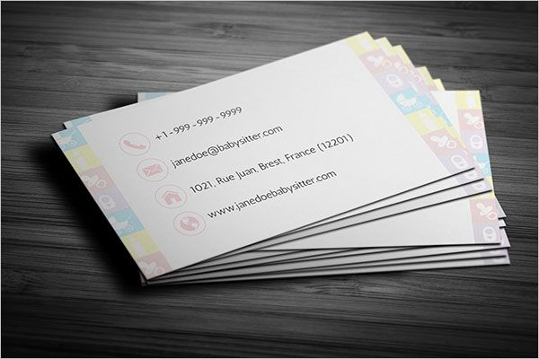 Premium Day Care Business Card Template