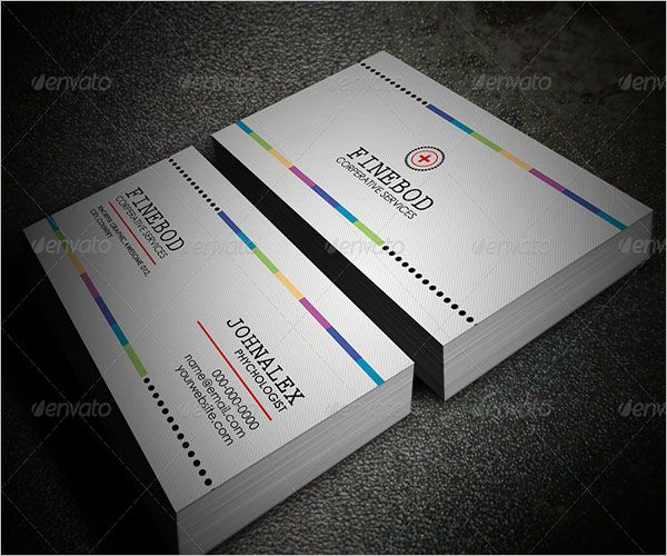 Printable Clinic Business Card Design