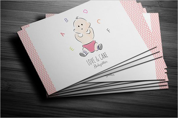 Professional Day Care Business Card Design