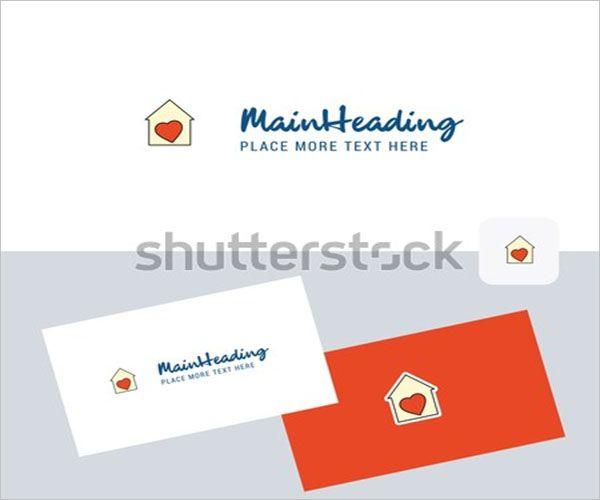 Retro Day Care Business Card Design