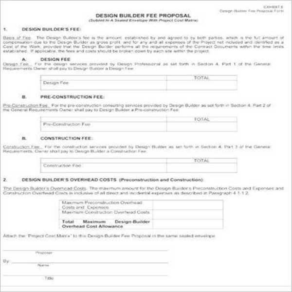 Sales Proposal Design Template