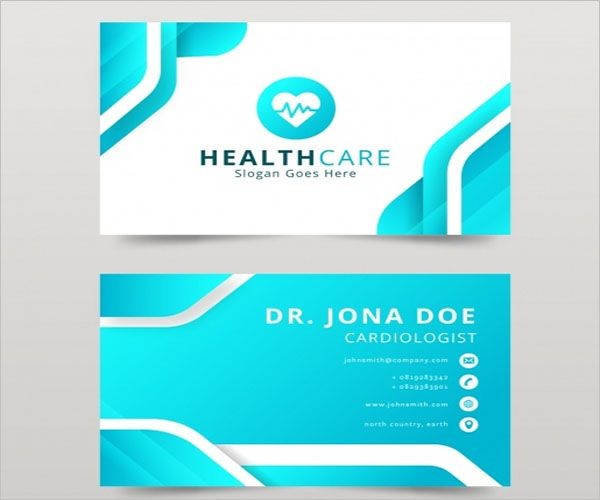 Sample Clinic Business Card Design