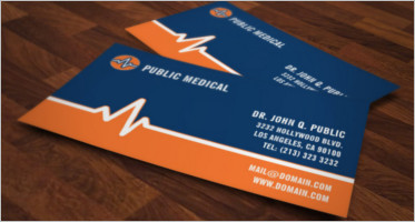 Simple Clinic Business Card Template