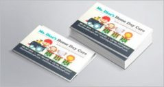 20+ Simple Day Care Business Card Templates
