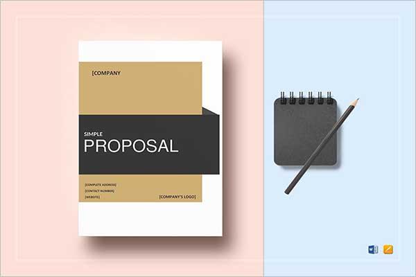Simple Design Proposal Template