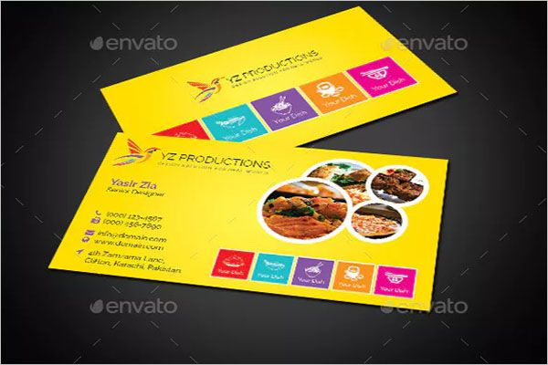 Smart Catering Services Business Card