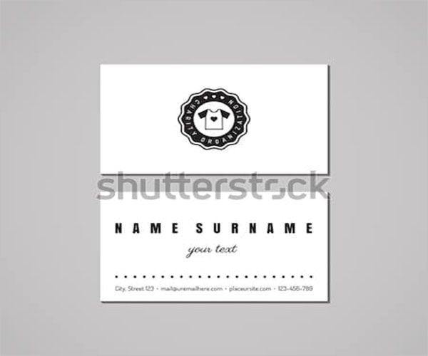 Social Charity Business Card Design