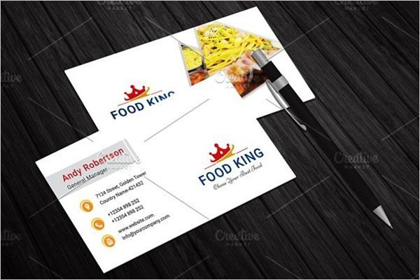 Special Catering Services Business Card