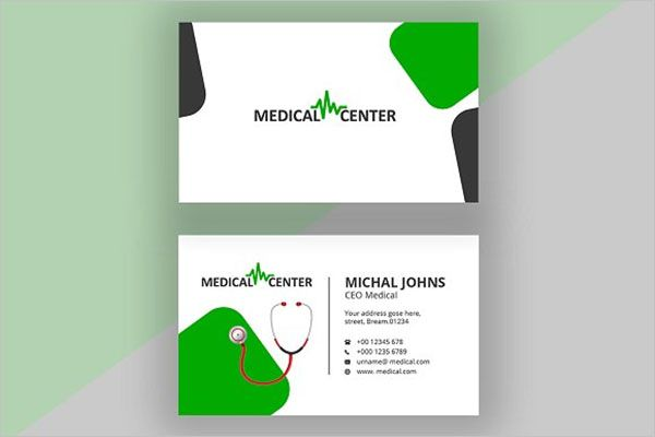 Special Clinic Business Card Design